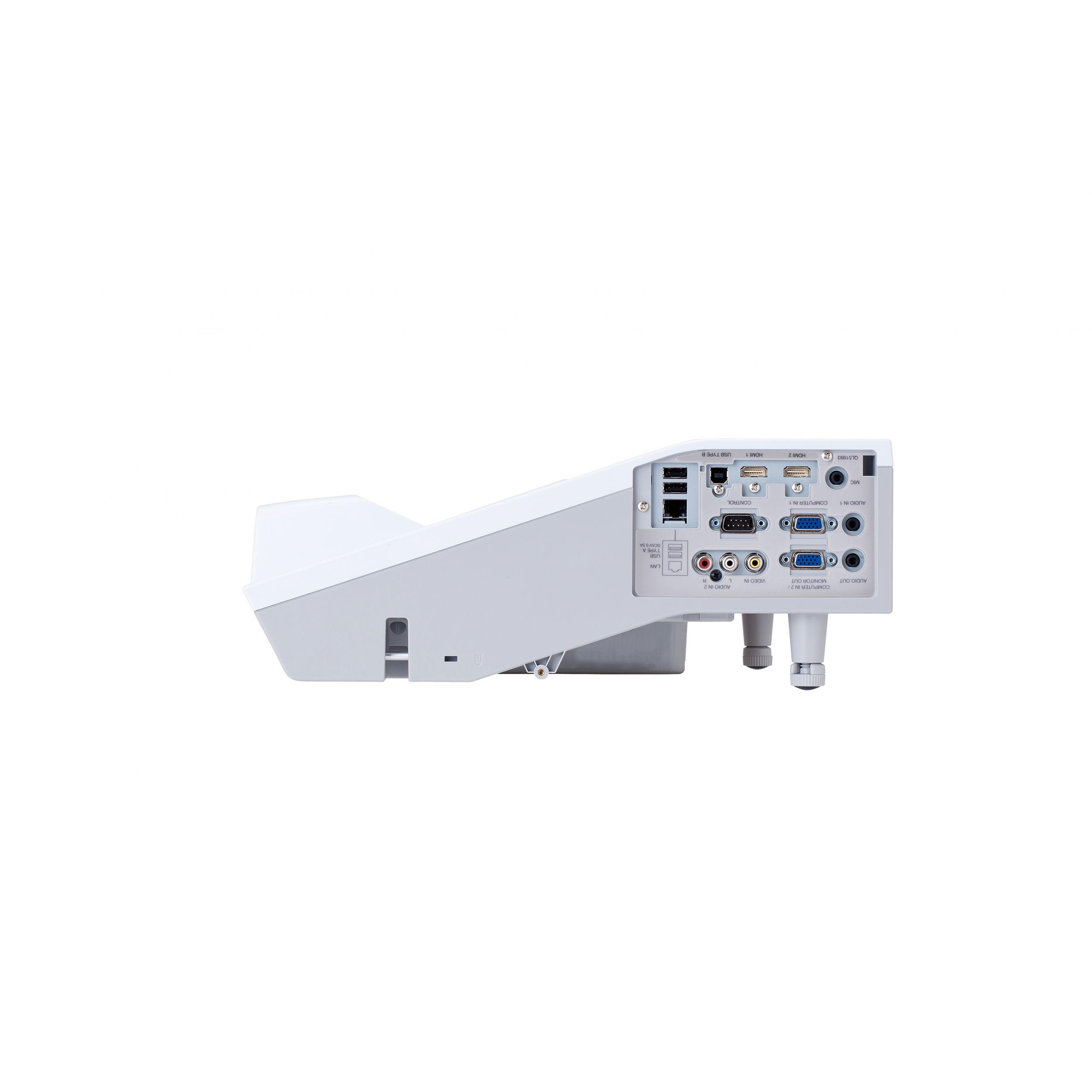projektor hitachi CP-AW2505 o ultrakrótkiej ogniskowekj